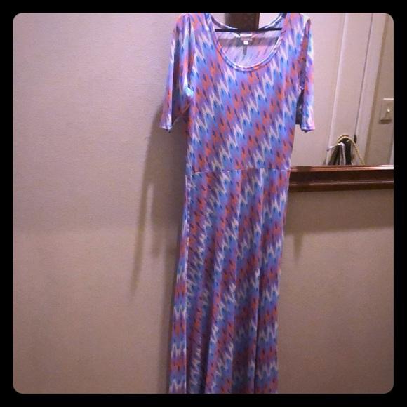 LuLaRoe Dresses & Skirts - Floor length colorful pattern maxi dress